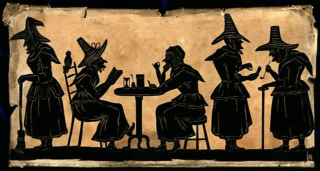 640px-witches3b_five_silhouetted_figures-_wellcome_v0048920