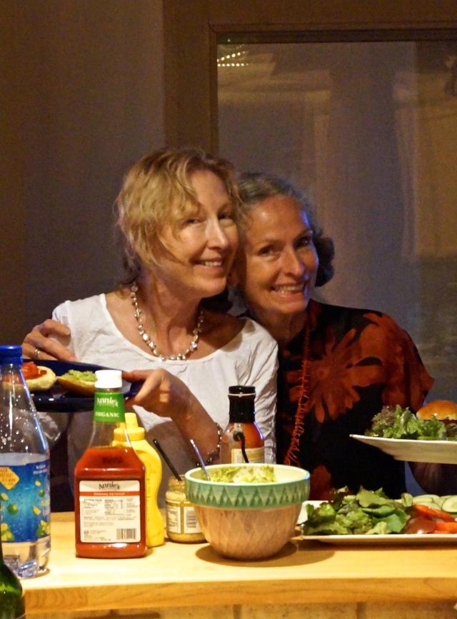 Barbara & Sylvie enjoying life