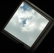 Skylight above my spot