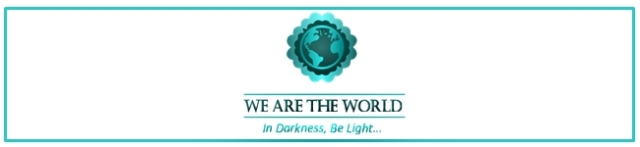 We are the world logo